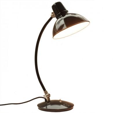 Frankfurt Bauhaus Table Lamp With Large Shade Casa Lumi