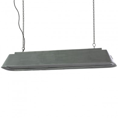 Long industrial pendant light for tables and counters BIS von Breda Leuchten, Image 1: The up to 1.5 m long pendant lamp in factory style is suitable e.g. for counters (large model)