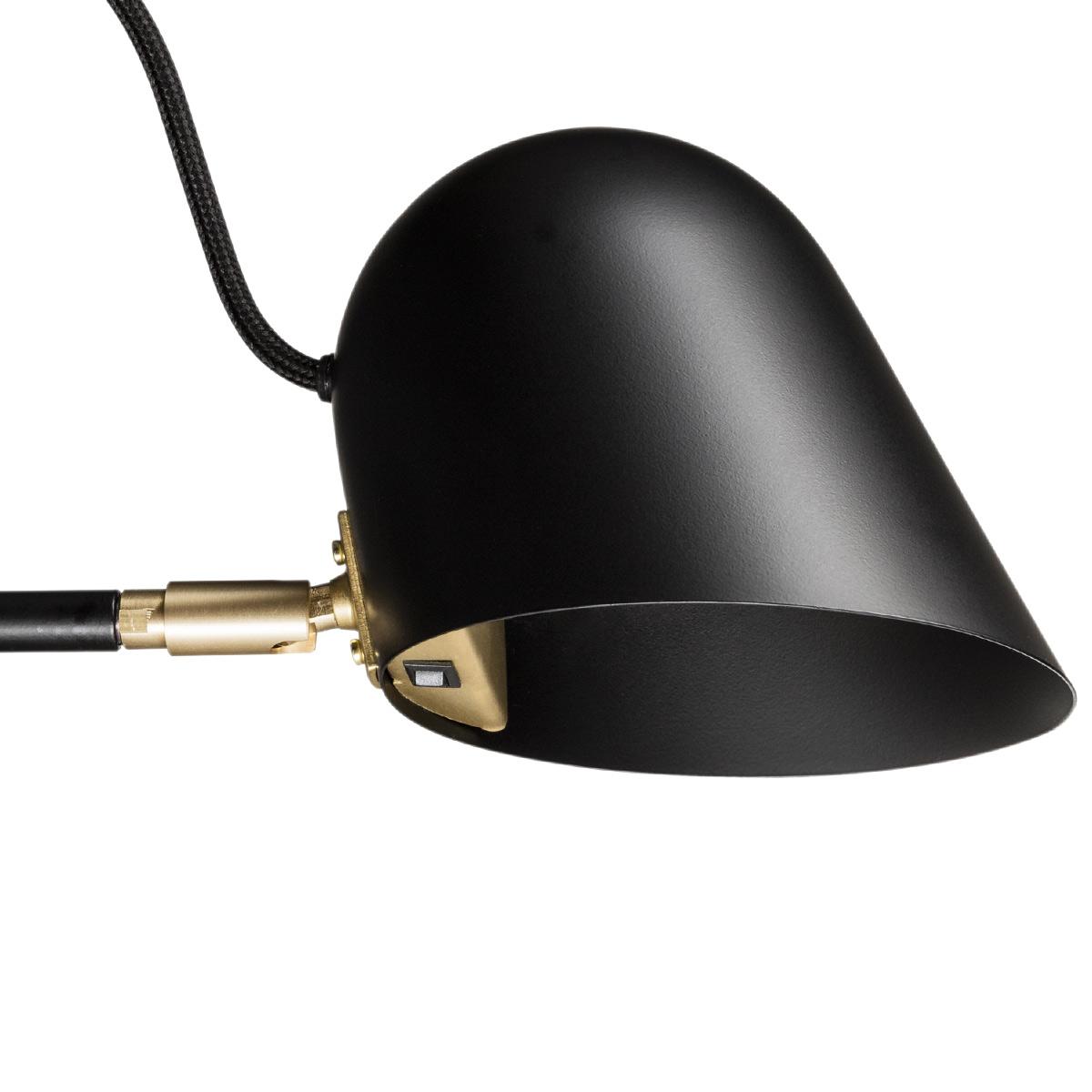Moderne Schwedische Design Stehleuchte Mit LED Von Vastervik Belysning Bild 7 Der Schalter