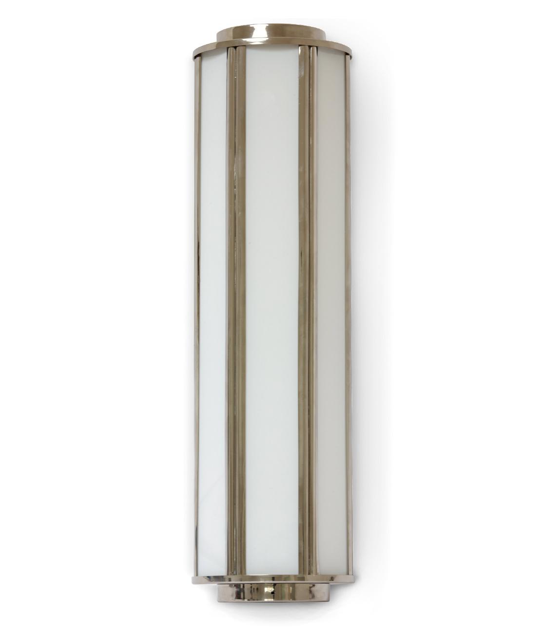 Badezimmer-Wandleuchte im Art déco-Stil, 30 cm - Casa Lumi