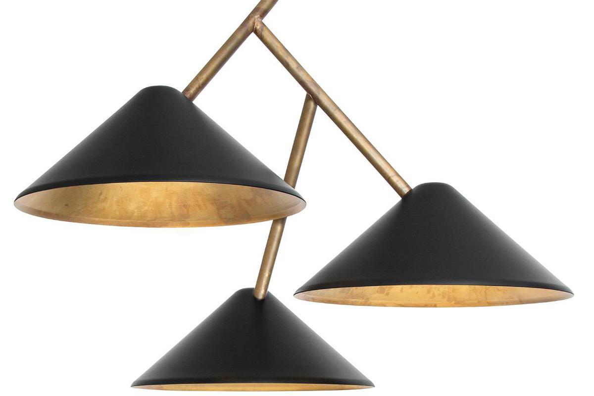 dreiflammige design h ngeleuchte astverk casa lumi. Black Bedroom Furniture Sets. Home Design Ideas