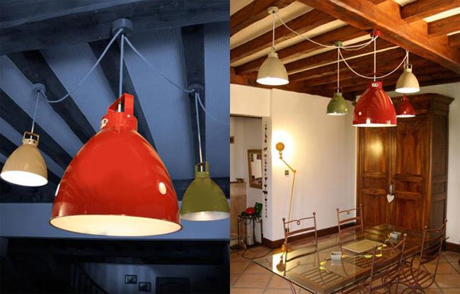 Moderne Lampen 54 : Industriestil pendelleuchten augustin aus frankreich Ø bis