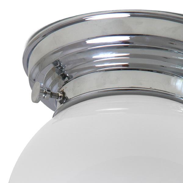nostalgische kugelglas deckenleuchte nicht nur f r badezimmer 18 cm casa lumi. Black Bedroom Furniture Sets. Home Design Ideas