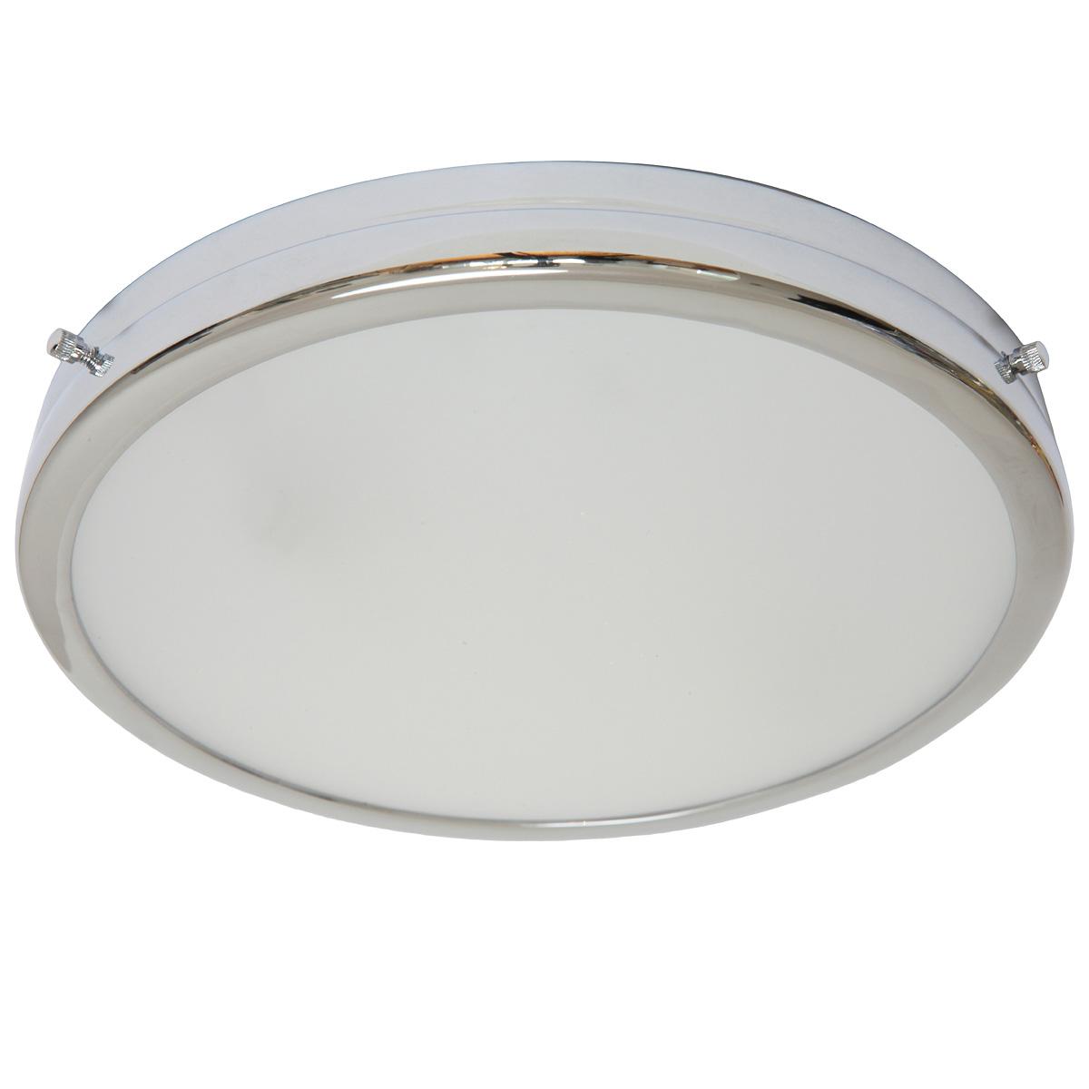 Bad deckenlampen  Runde Badezimmer-Deckenleuchte DISK - Casa Lumi