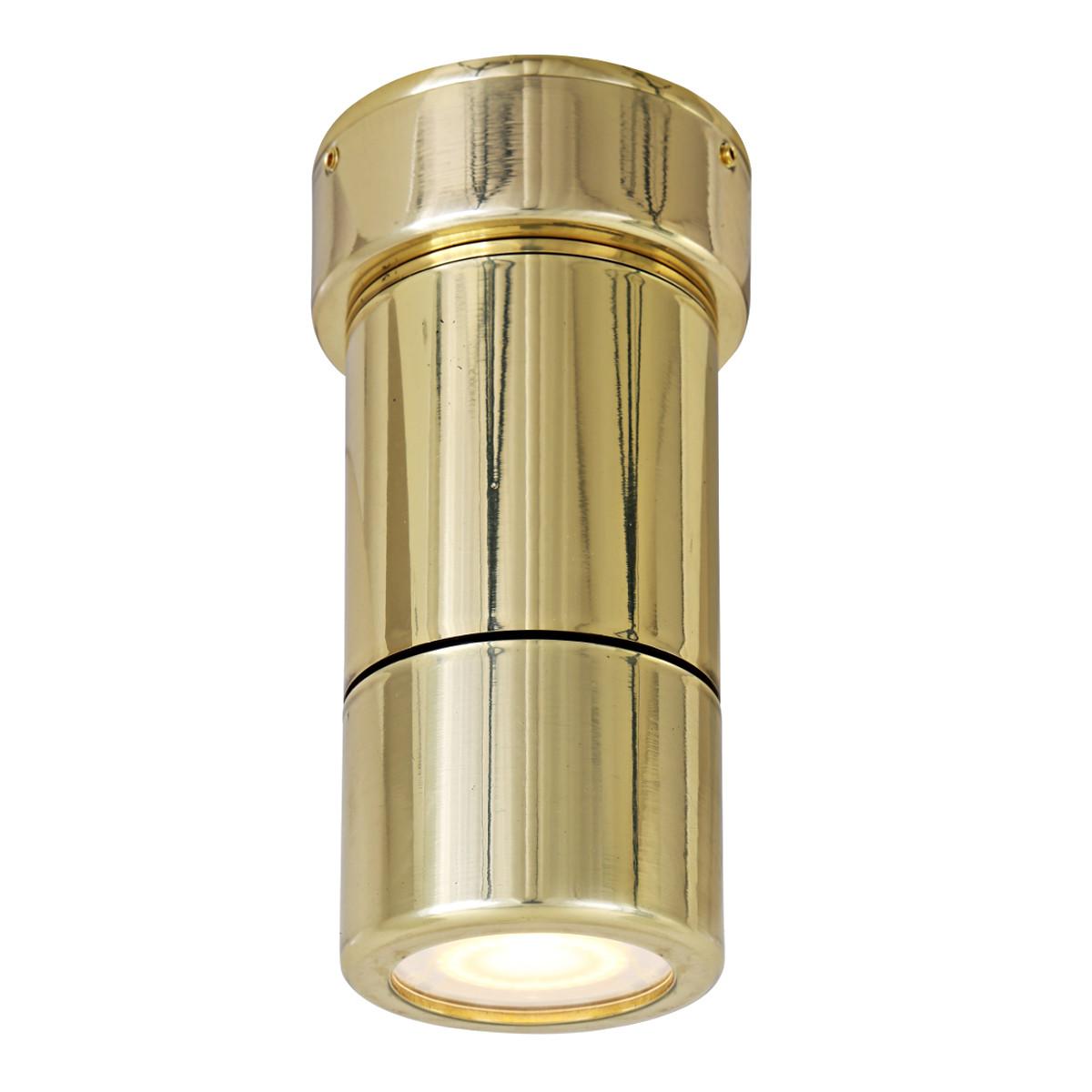Badezimmer-Deckenstrahler CLARE aus Messing, IP65 - Casa Lumi