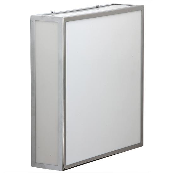 LED Quadratische Decken- oder Wandleuchte für das Bad - Casa Lumi