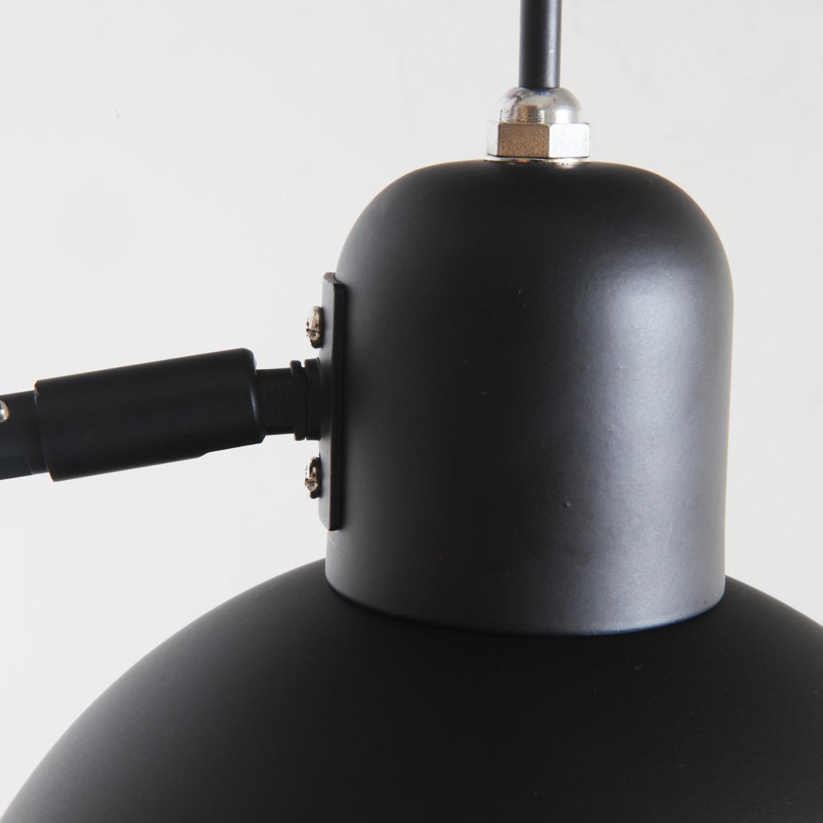 bauhaus scherenleuchte aus stahl in schwarz casa lumi. Black Bedroom Furniture Sets. Home Design Ideas
