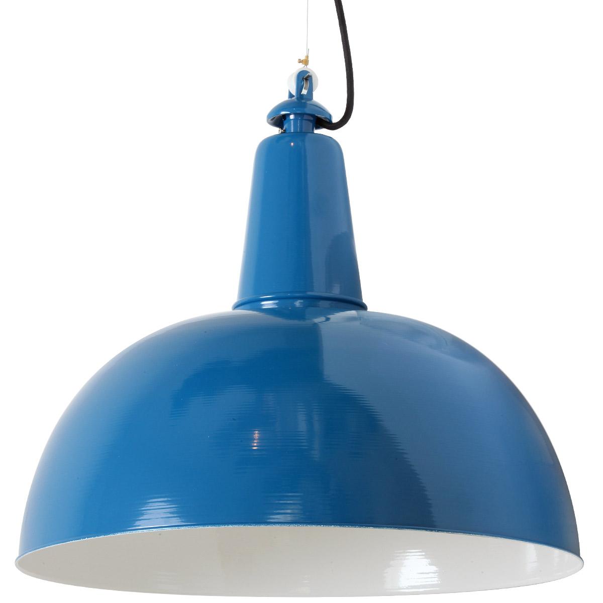 KÖLN Fabriklampe mit Halbkugel-Blechschirm - Casa Lumi