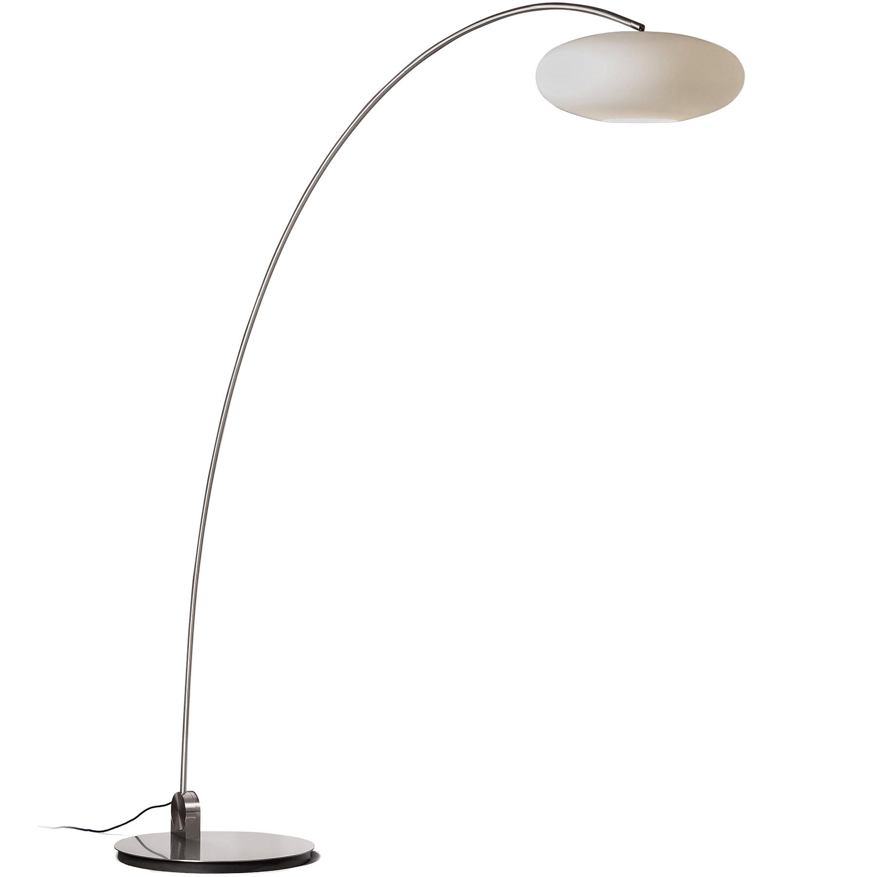 Adjustable Arc Light Amor B With Glass Shade Casa Lumi