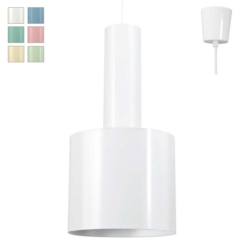 meta doppel zylinder pendelleuchte z b f r hohe r ume casa lumi. Black Bedroom Furniture Sets. Home Design Ideas
