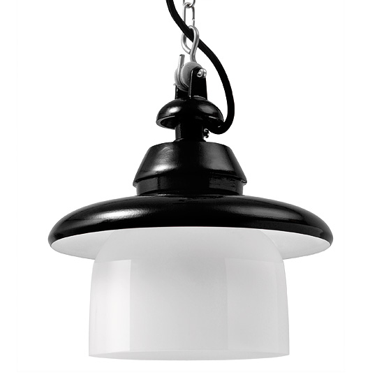 koblenz industriedesign h ngeleuchte mit ringglas casa lumi. Black Bedroom Furniture Sets. Home Design Ideas