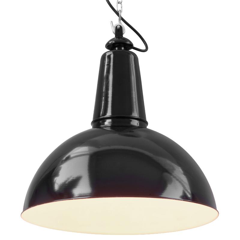 k ln fabriklampe mit halbkugel blechschirm casa lumi. Black Bedroom Furniture Sets. Home Design Ideas