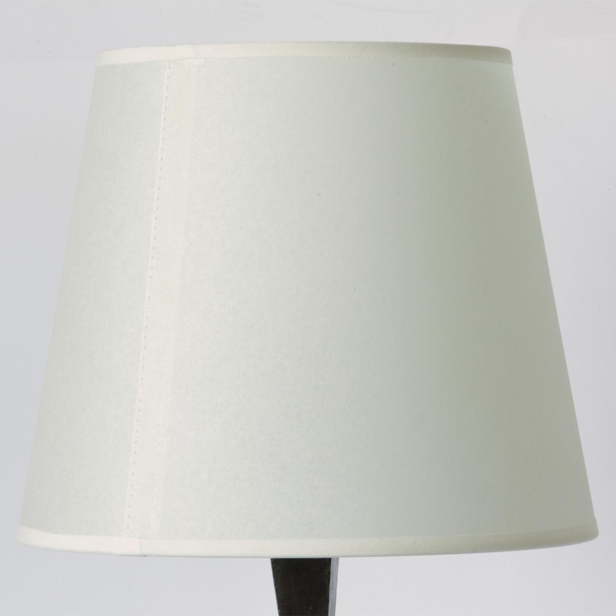 kunstvolle bronze tischleuchte ve mit stoffschirm casa lumi. Black Bedroom Furniture Sets. Home Design Ideas