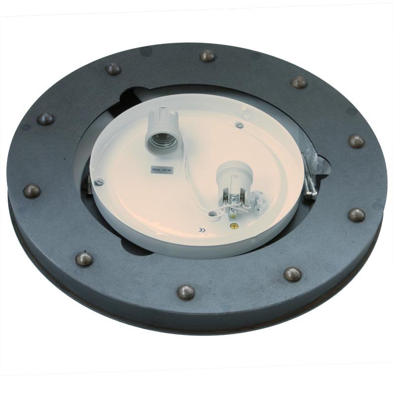 Len Industriestil industriestil de 2550 wrought iron ceiling luminaire casa lumi