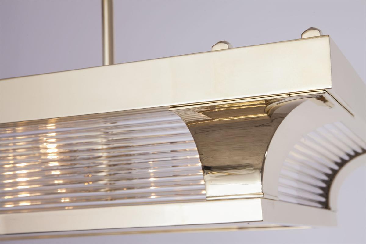 Petitot Leuchte Schiff Art Deco Deckenleuchte Casa Lumi