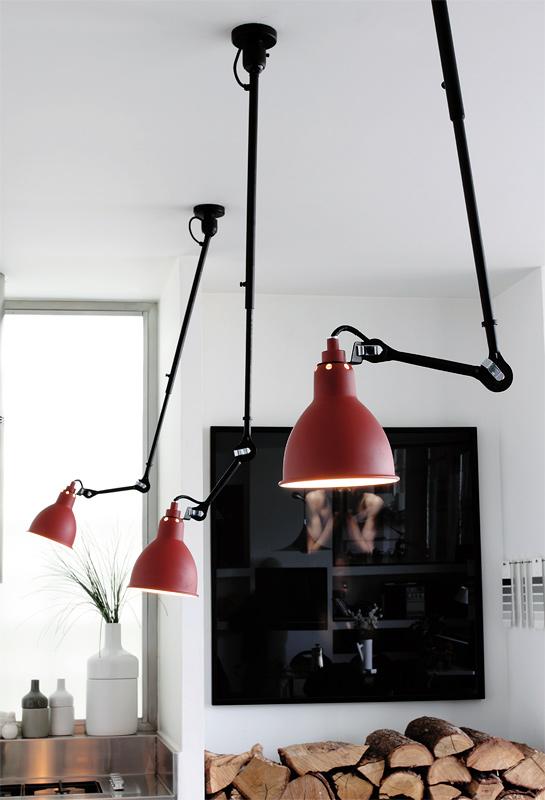 lampe gras n 302 ausziehbare deckenleuchte an teleskopstange casa lumi. Black Bedroom Furniture Sets. Home Design Ideas