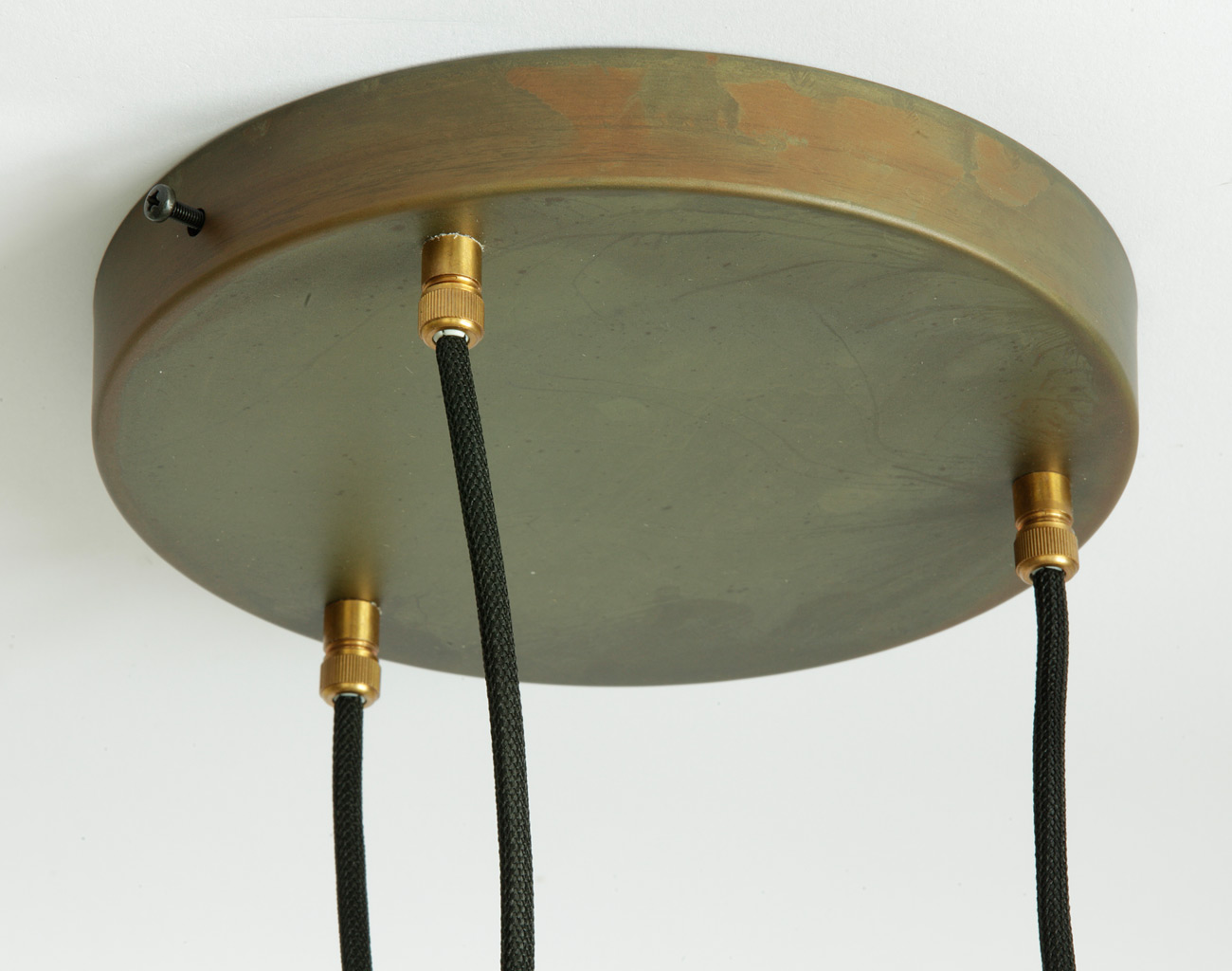 Narrow Pendant Lamp Made Of Raw Brass Von Kh Verkstad Image 17