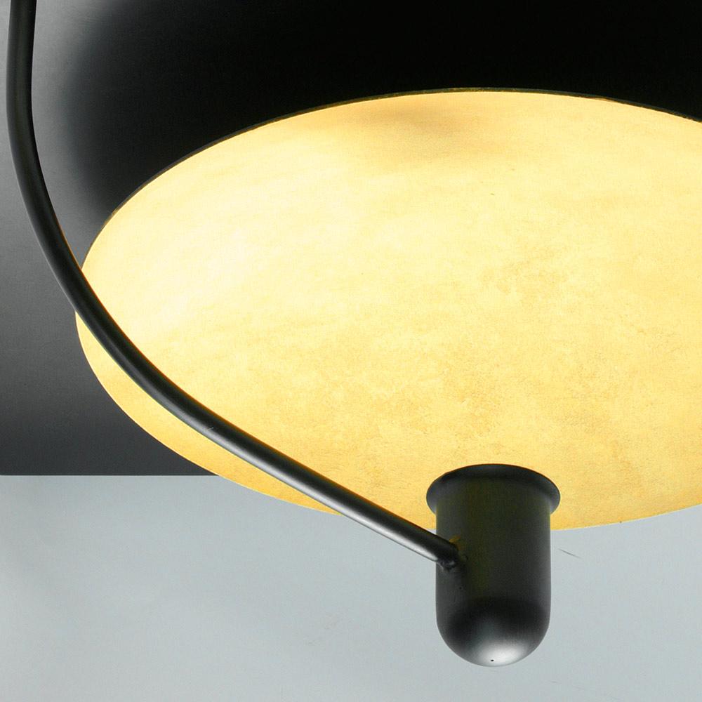 Sanftes Indirektes Licht Deckenleuchte Mit Goldenem Reflektor