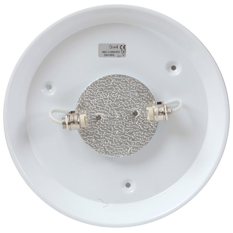 Runde Badezimmer-Deckenleuchte DISK Ø 18/24/30/40 cm - Casa Lumi