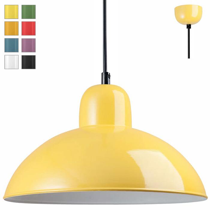donia handgefertigte blech h ngelampe in allen farben casa lumi. Black Bedroom Furniture Sets. Home Design Ideas