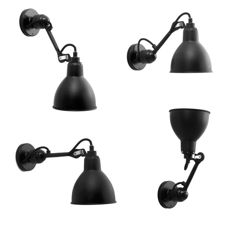 einstellbare gelenk wandlampe n 304 mit kurzem wandarm casa lumi. Black Bedroom Furniture Sets. Home Design Ideas