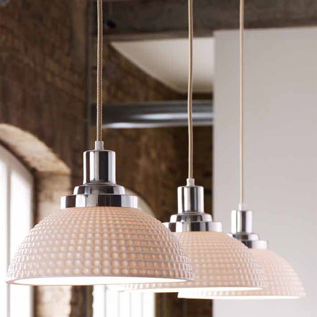Height Adjustable Porcelain Pendant Lamp COSMO Von Original BTC, Image 13:  Schöne Pendellampen