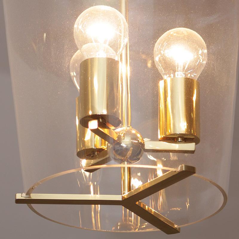 Exklusive klassische h ngeleuchte mit kristallglas for Exklusive pendelleuchten