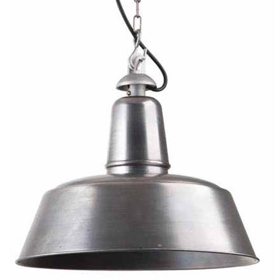 Uriger Look Bolich Fabriklampe Mit Echter Rost Patina: Shabby Chic-Fabriklampe Mit Echter Rost-Patina