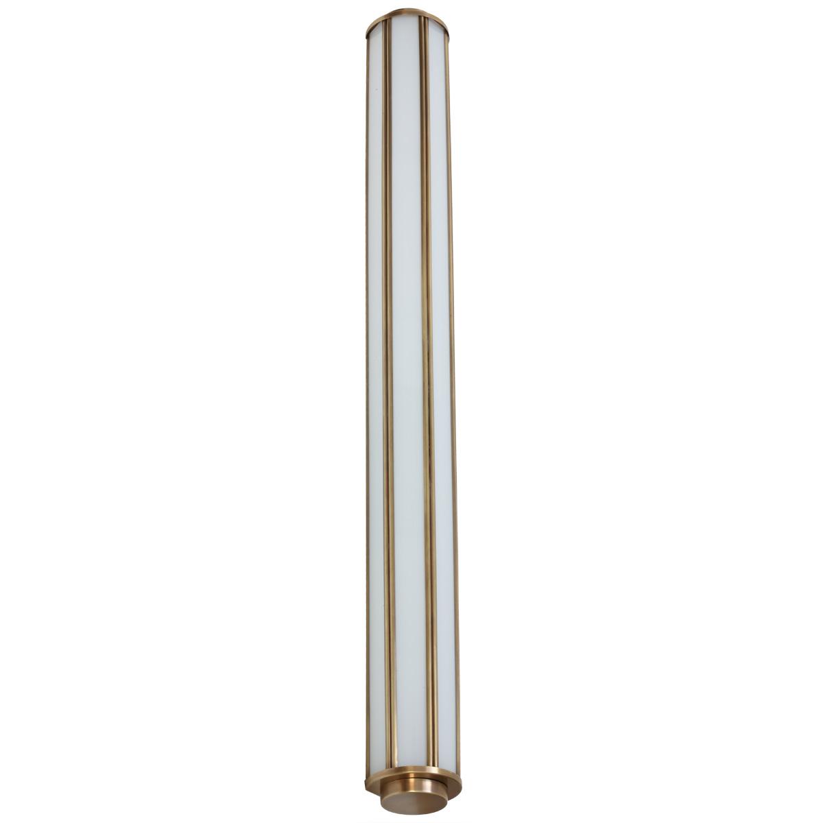 lange art déco-wandleuchte für bad und spiegel, 90 cm - casa lumi, Badezimmer ideen
