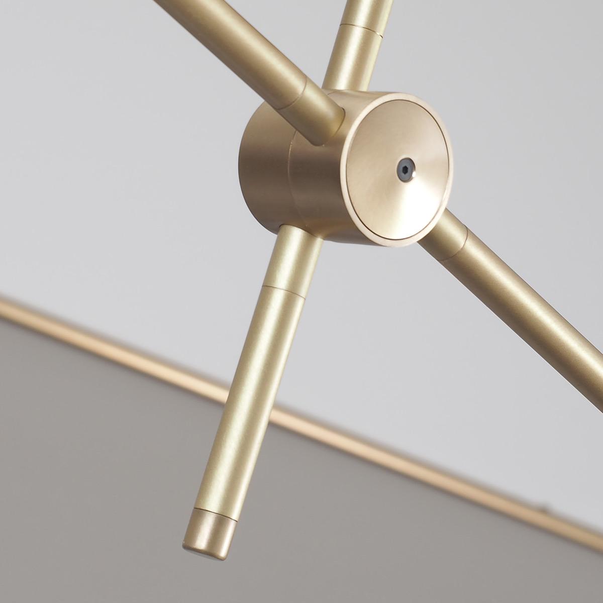 Aus Was Besteht Messing beeindruckender mid century design leuchter aus messing 118 cm