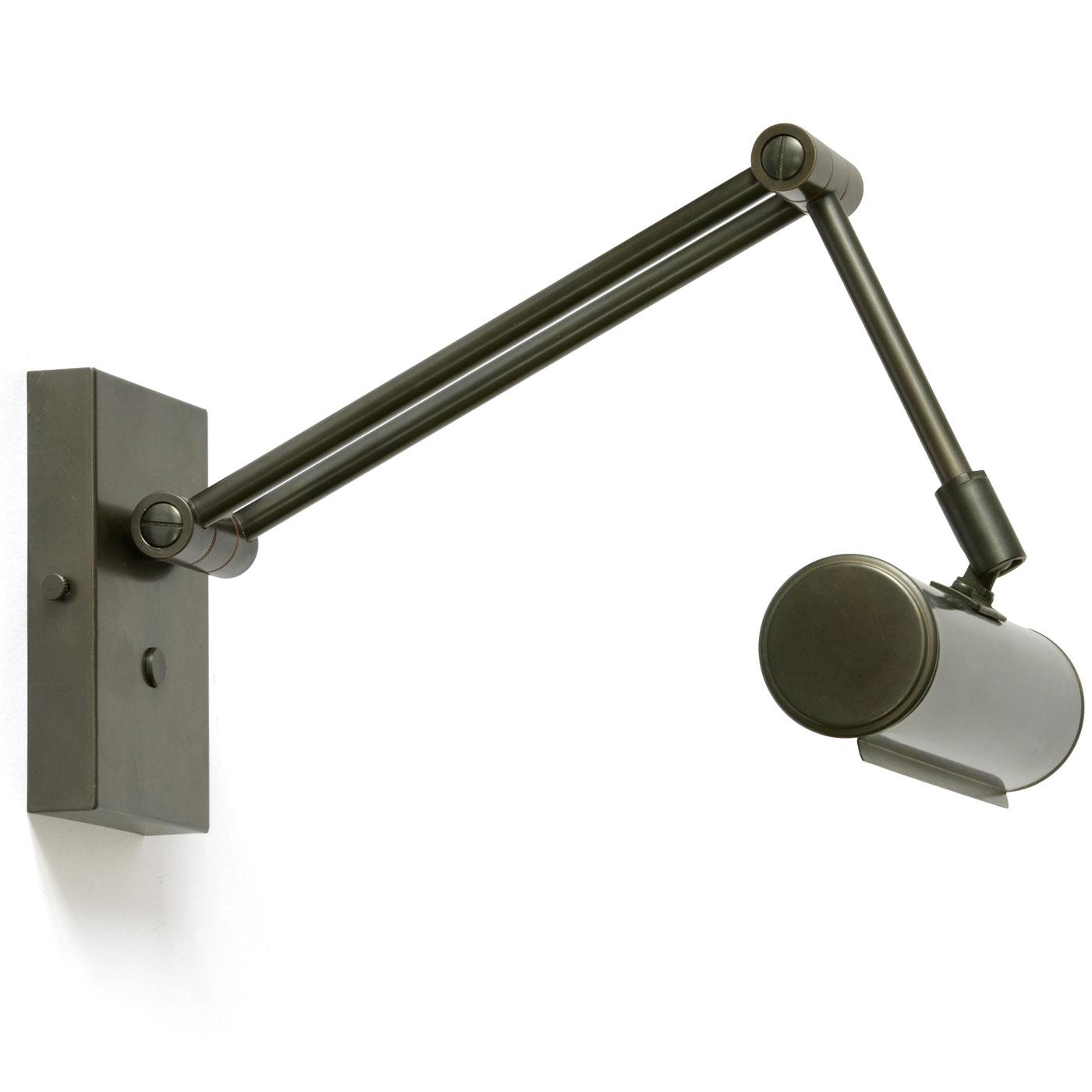 30cm Gelenk Bilderleuchte Vintage Wandleuchter Messing Bilderlampe Wandlampe
