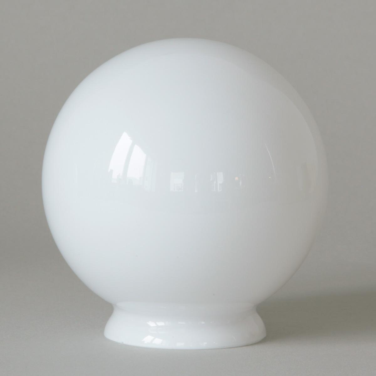 sehr kleine deckenlampe mit wei em kugelglas 10 cm casa lumi. Black Bedroom Furniture Sets. Home Design Ideas