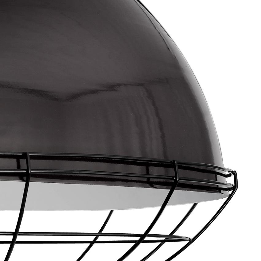 sehr gro e lagerhaus h ngelampe mit schutzgitter bruxelles casa lumi. Black Bedroom Furniture Sets. Home Design Ideas