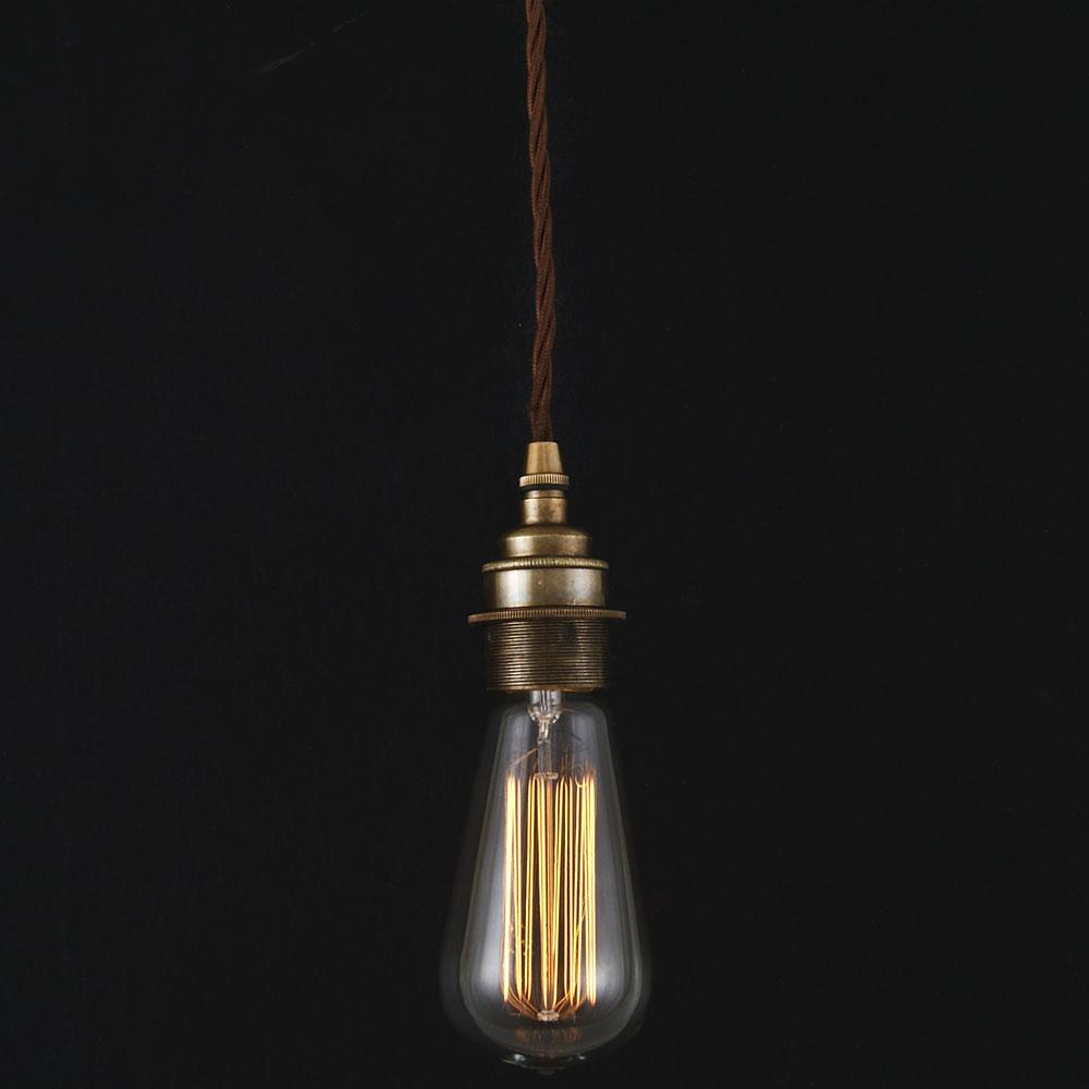 schlichte h ngeleuchte zum einsatz mit edison gl hlampe casa lumi. Black Bedroom Furniture Sets. Home Design Ideas