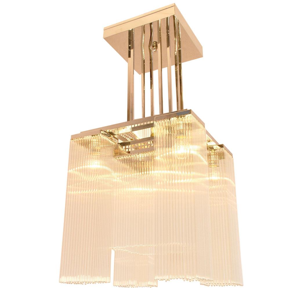 art d co kristallst bchen leuchter hoffmann i casa lumi. Black Bedroom Furniture Sets. Home Design Ideas