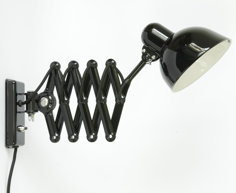 kaiser idell scherenlampe 6718 w in schwarz casa lumi. Black Bedroom Furniture Sets. Home Design Ideas