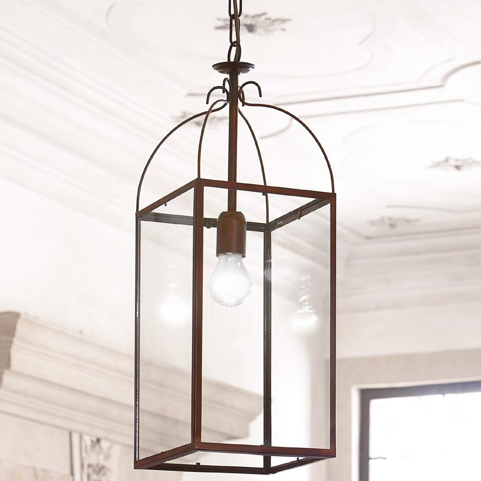 aida pendelleuchte aus messing in laternenform casa lumi. Black Bedroom Furniture Sets. Home Design Ideas