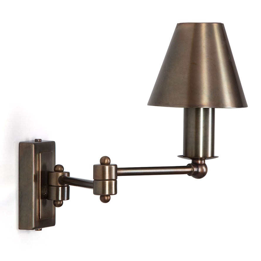 kleine wandleuchte mit schwenk arm aus frankreich jean casa lumi. Black Bedroom Furniture Sets. Home Design Ideas