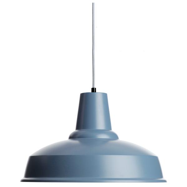 Kleine Industrial-Pendelleuchte aus Dänemark PICCOLO, 12 Farben ...