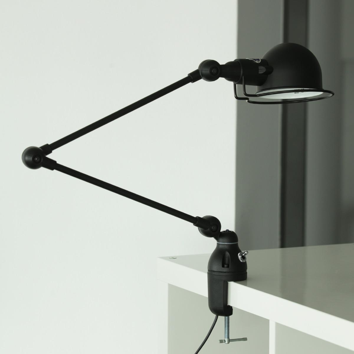 Klemm lampe signal f r tischplatten und regale casa lumi for Designer tischplatten