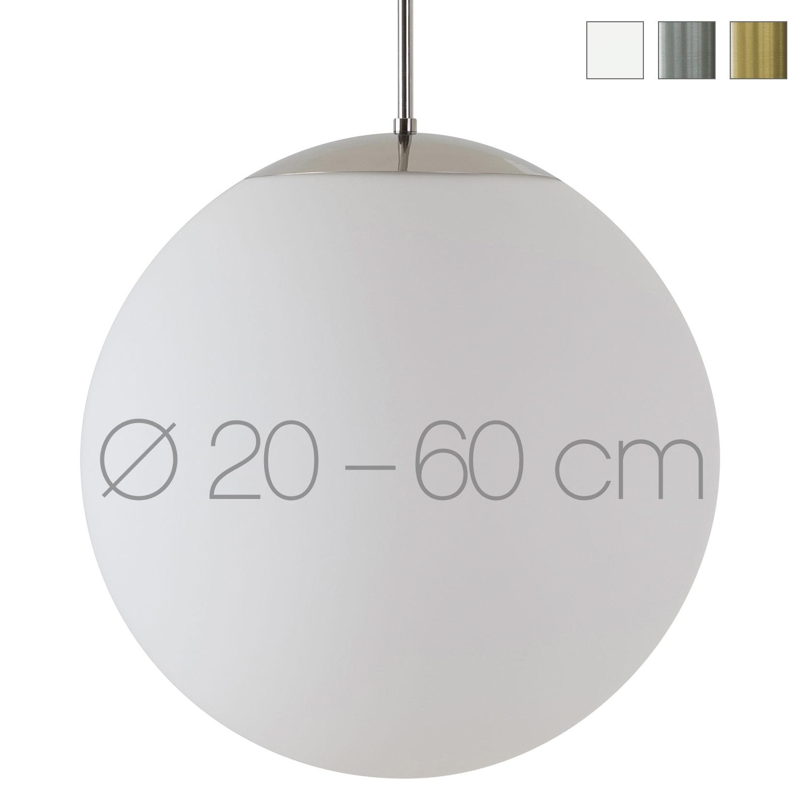 Klassische Kugel Hängeleuchte ADRIANA mit Opalglas Ø 20</div>                                   </div>         </div>       </div>                                     <div class=