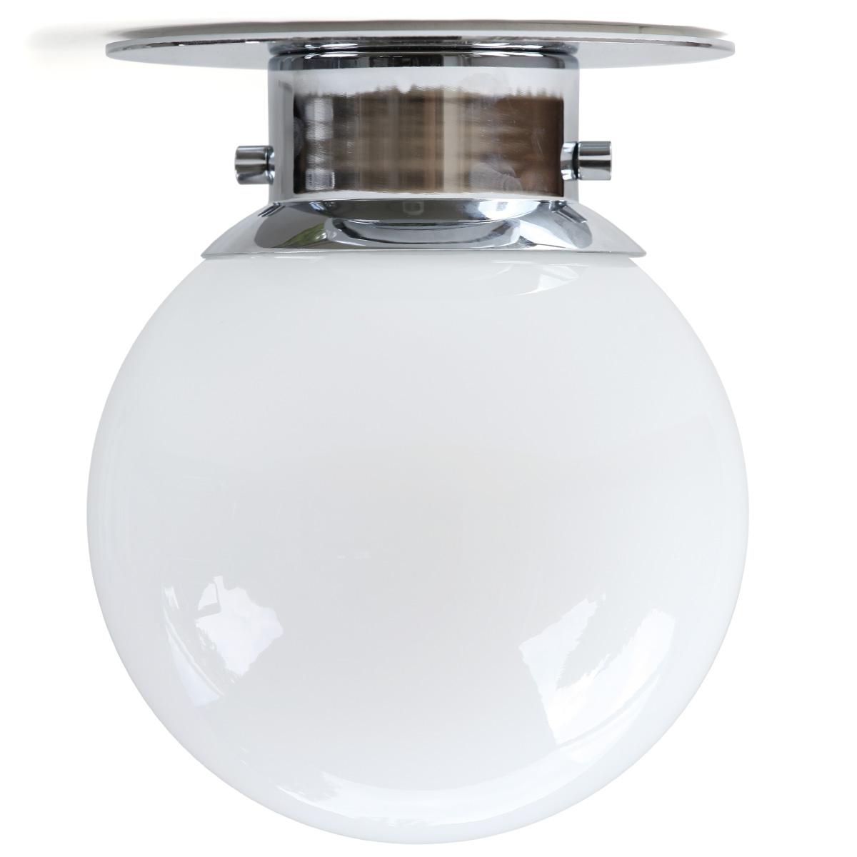 GLOBUS Kugel-Deckenleuchte für das Bad (IP 44) Ø 20 cm - Casa Lumi