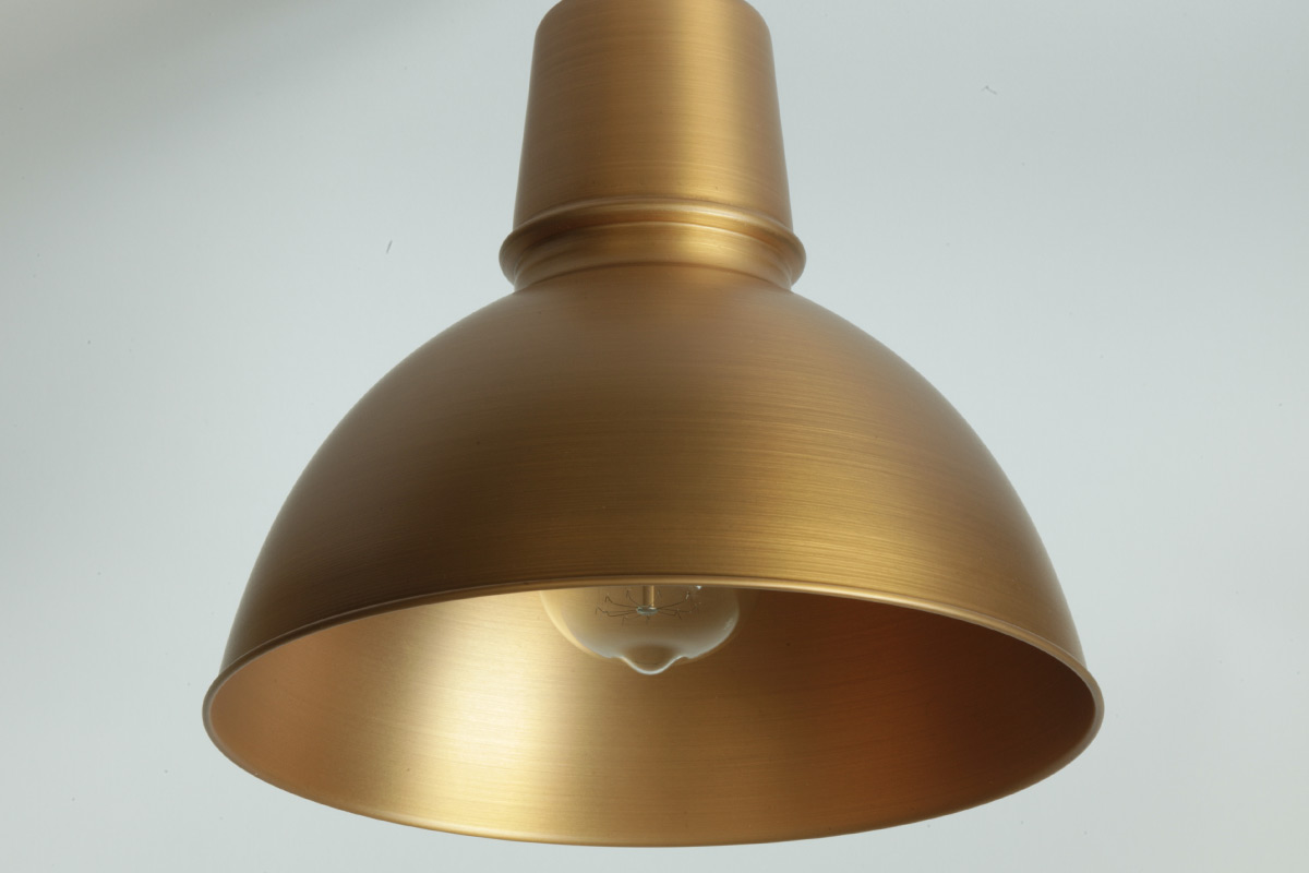 Plafoniere Industrial Style : KÖln fabriklampe mit halbkugel blechschirm casa lumi