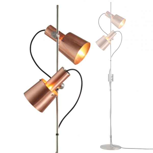 stehlampe im eleganten sixties design chester casa lumi. Black Bedroom Furniture Sets. Home Design Ideas