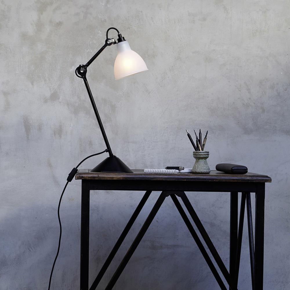 lampe gras 205 tischleuchte schreibtischlampe klassiker casa lumi. Black Bedroom Furniture Sets. Home Design Ideas