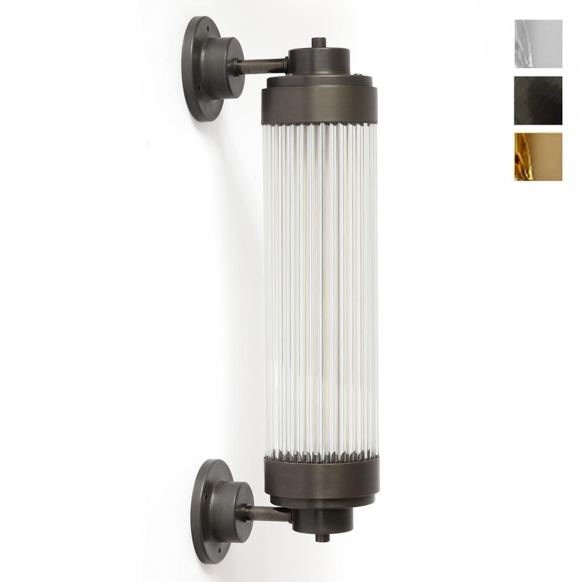 Pillar Offset: Exklusive Art Déco-Wandleuchte LED, Bad und Aussen ...