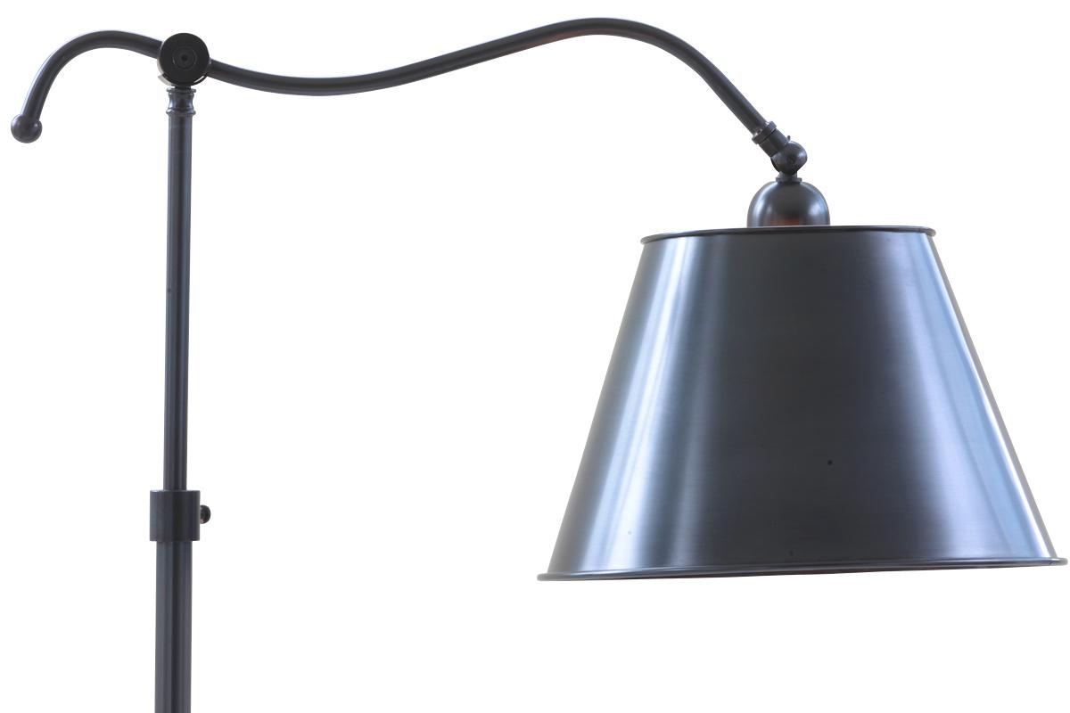 Französische lese stehlampe aus messing casa lumi