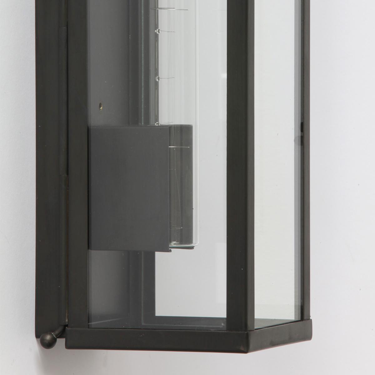 linestra vitrine schmale verglaste kasten wandleuchte casa lumi. Black Bedroom Furniture Sets. Home Design Ideas