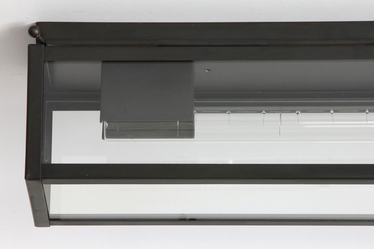 Kasten deckenleuchte für zwei linestra stablampen 111 cm casa lumi