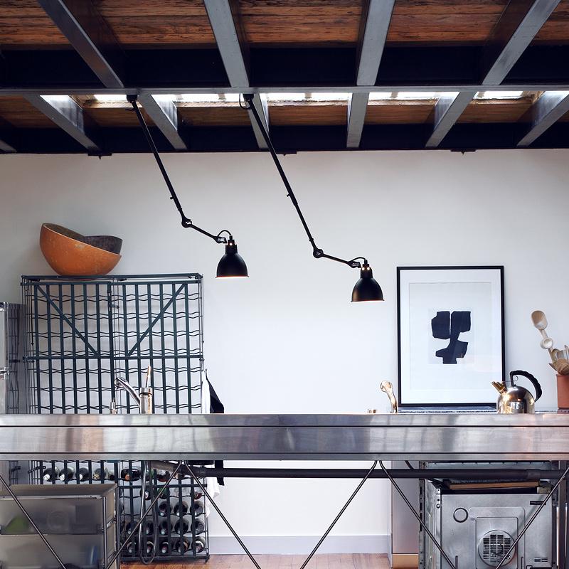 ausziehbare deckenleuchte lampe gras n 302 an teleskopstange casa lumi. Black Bedroom Furniture Sets. Home Design Ideas